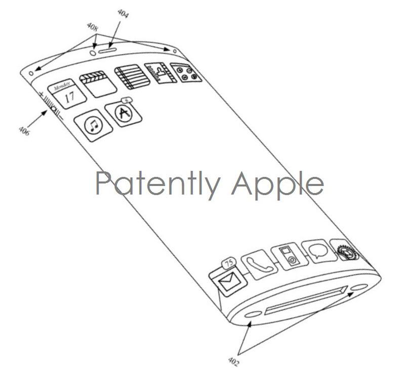 brevetto iphone schermo