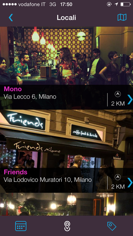 App Milano Gay Life foto 2