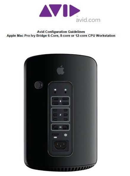 Avid sui nuovi Mac Pro