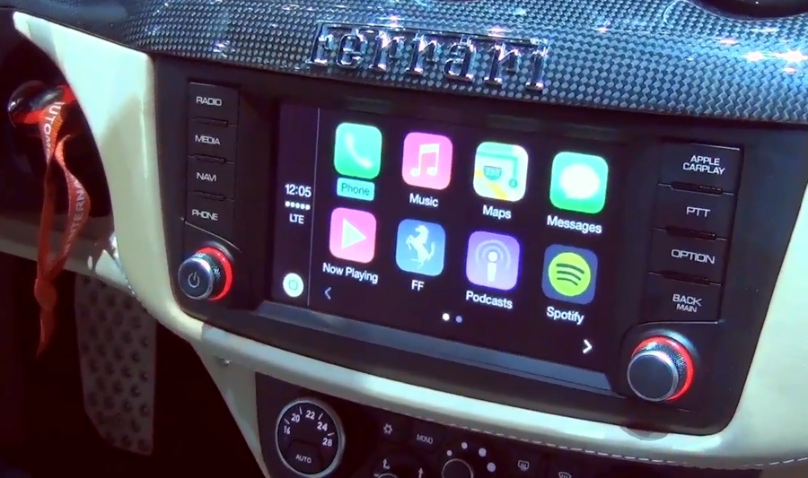 CarPlay e sicurezza