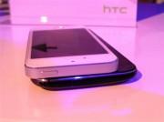 HTC One e iphone 5s 4