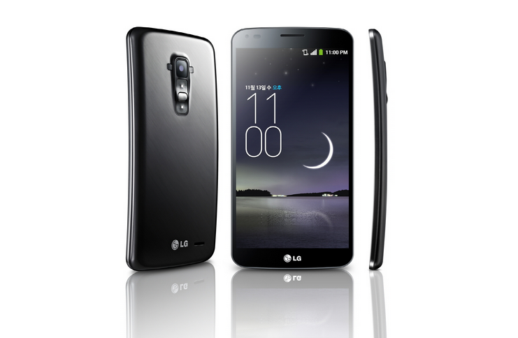 LG G Flex spot