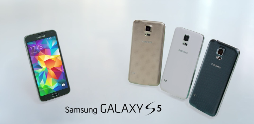 Galaxy S5 samsung video hands-on