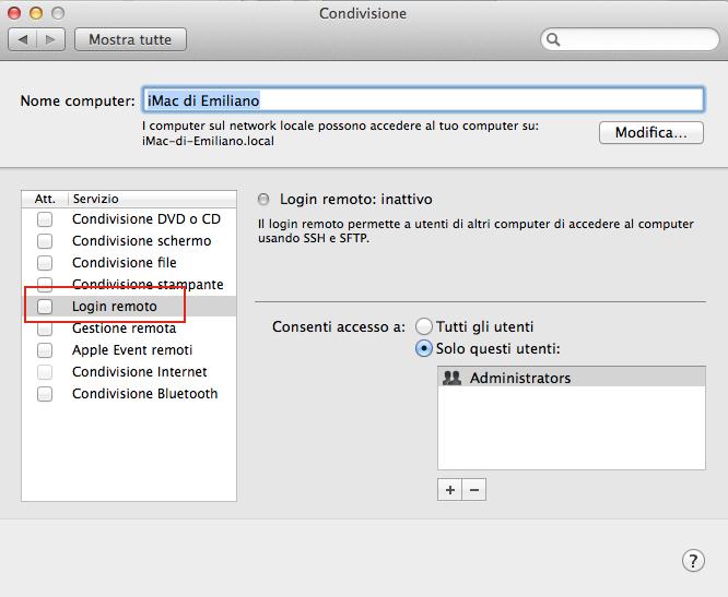 Mac.Remote, controllare il mac con Android