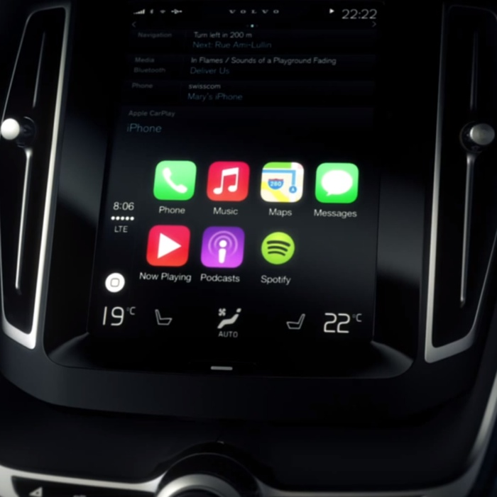 carplay volvo icon 700