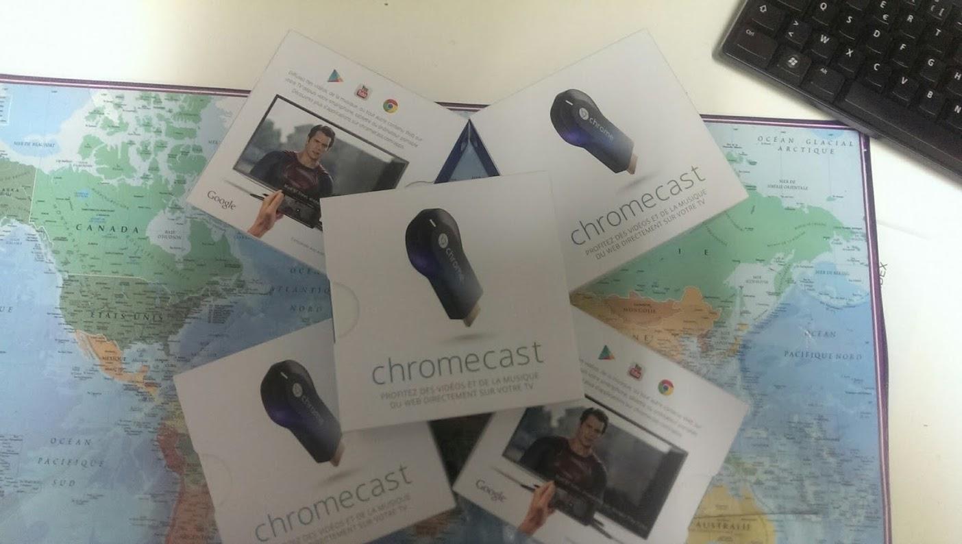 chromecast fr