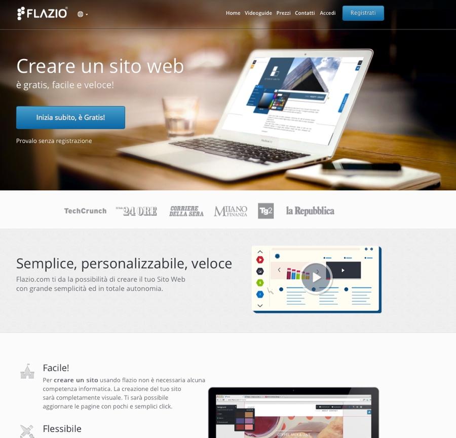 flazio sito web 900