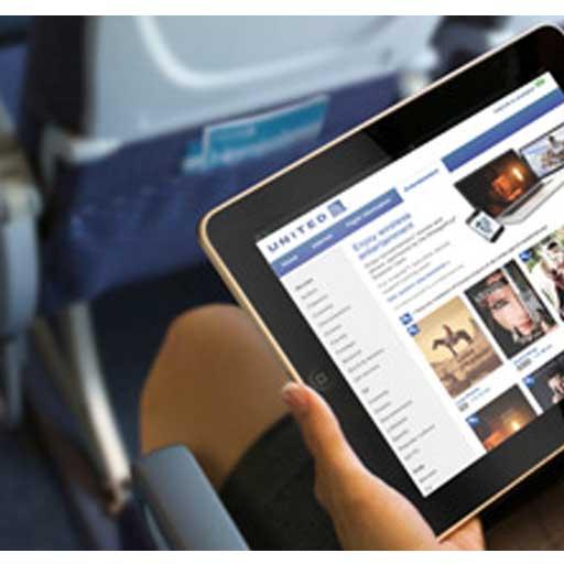 United Airlines: sugli aerei offre film e TV in streaming per iPhone e iPad