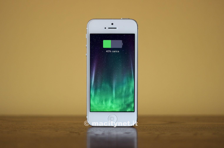 aumentare la durata della batteria iPhone