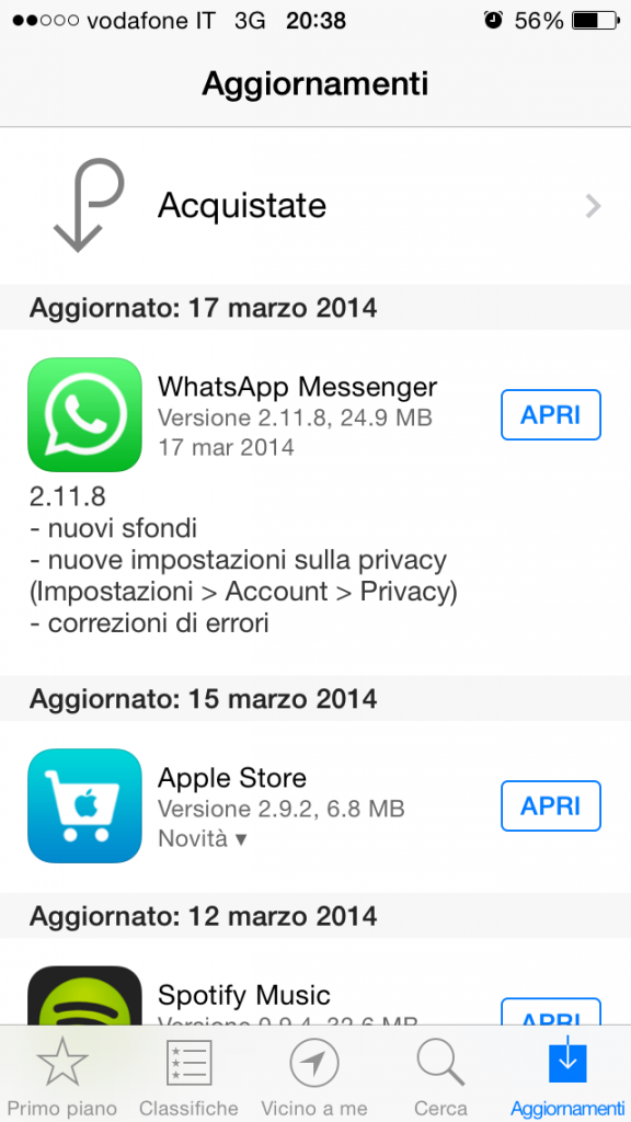 privacy in Whatsapp