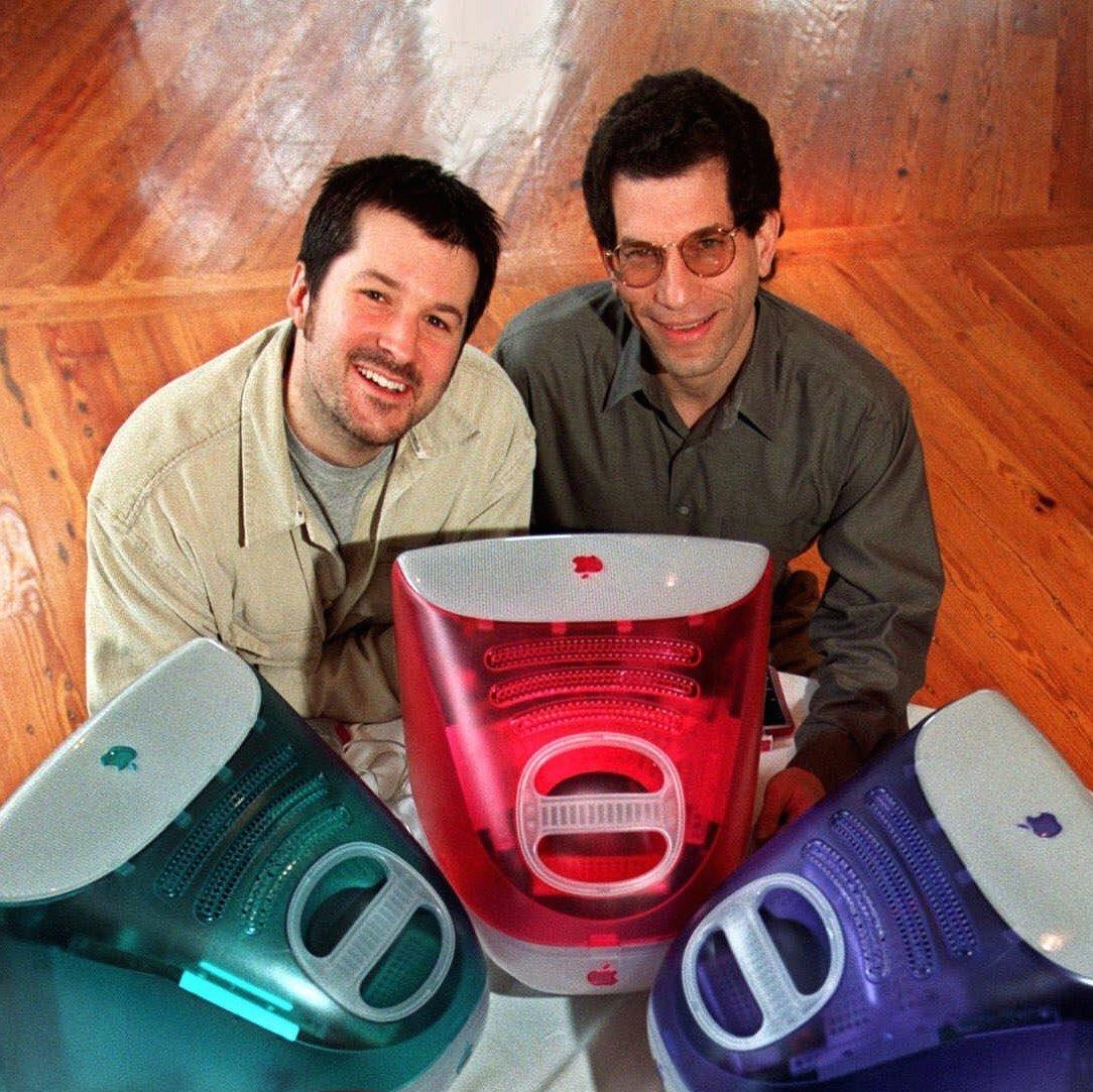 Joni Ive e Jon Rubinstein