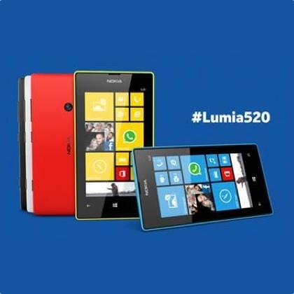 nokia attacca apple - lumia 520 icon