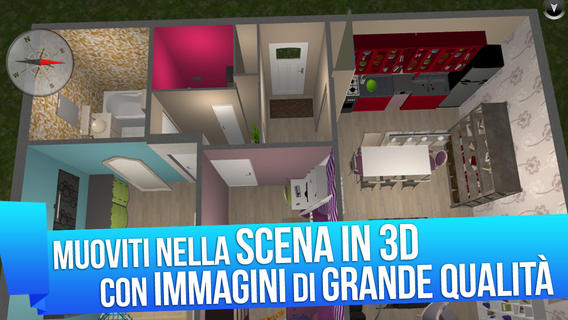 Home design 3d gold crea e arreda la tua casa con stile for Crea la tua casa
