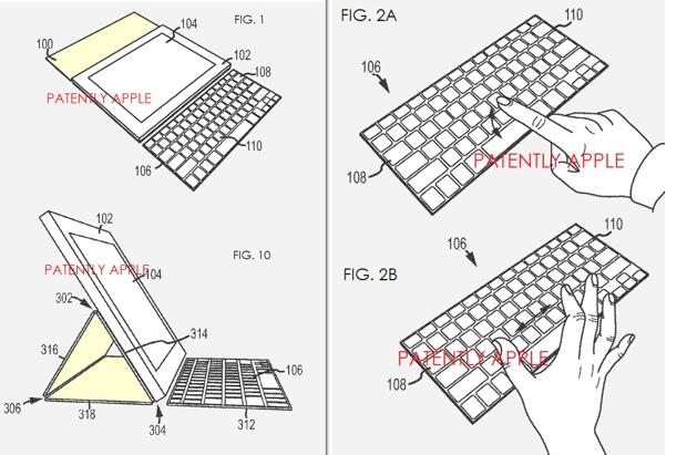 smart cover con tastiera - brevetto apple 620