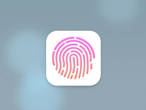 iPad con Touch ID