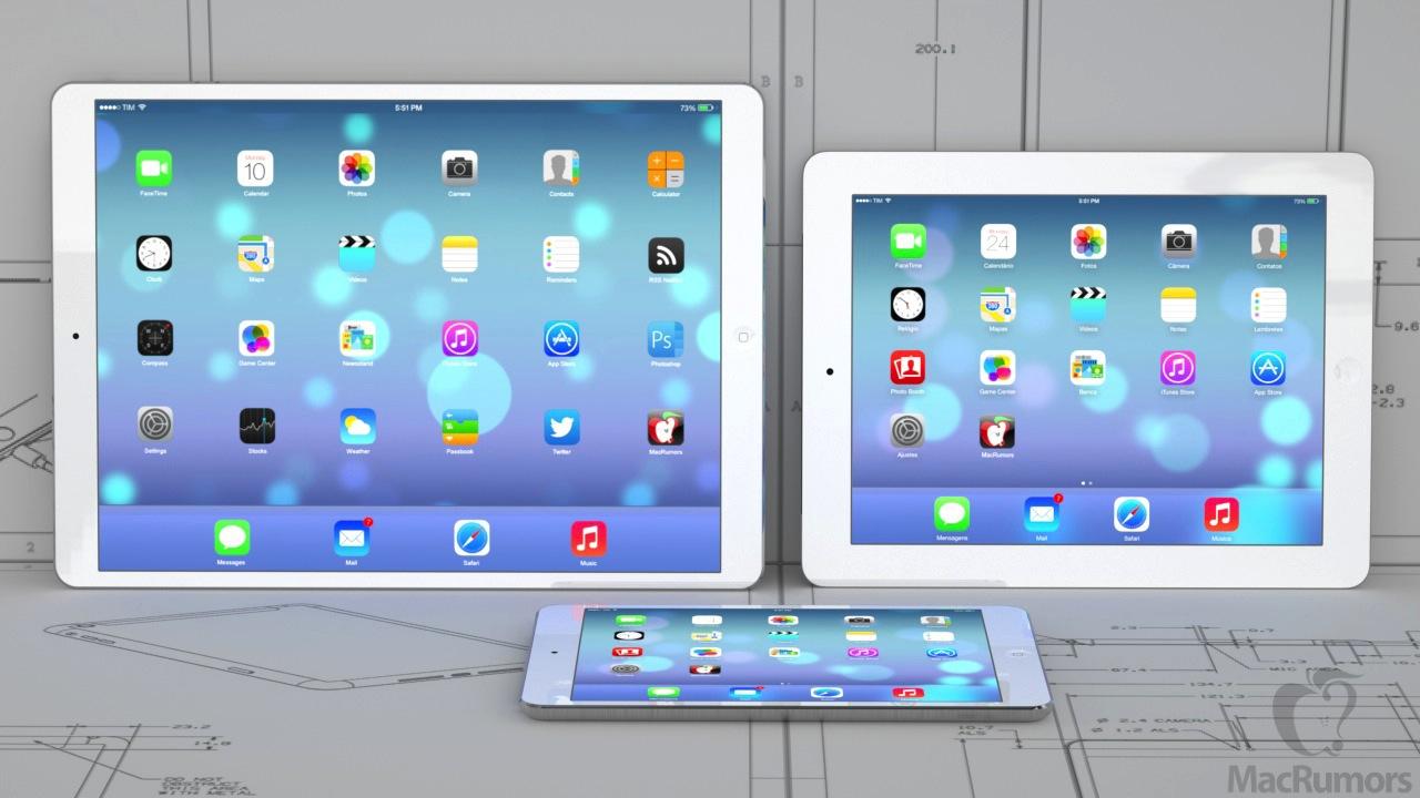 Nuovi iPad 2014