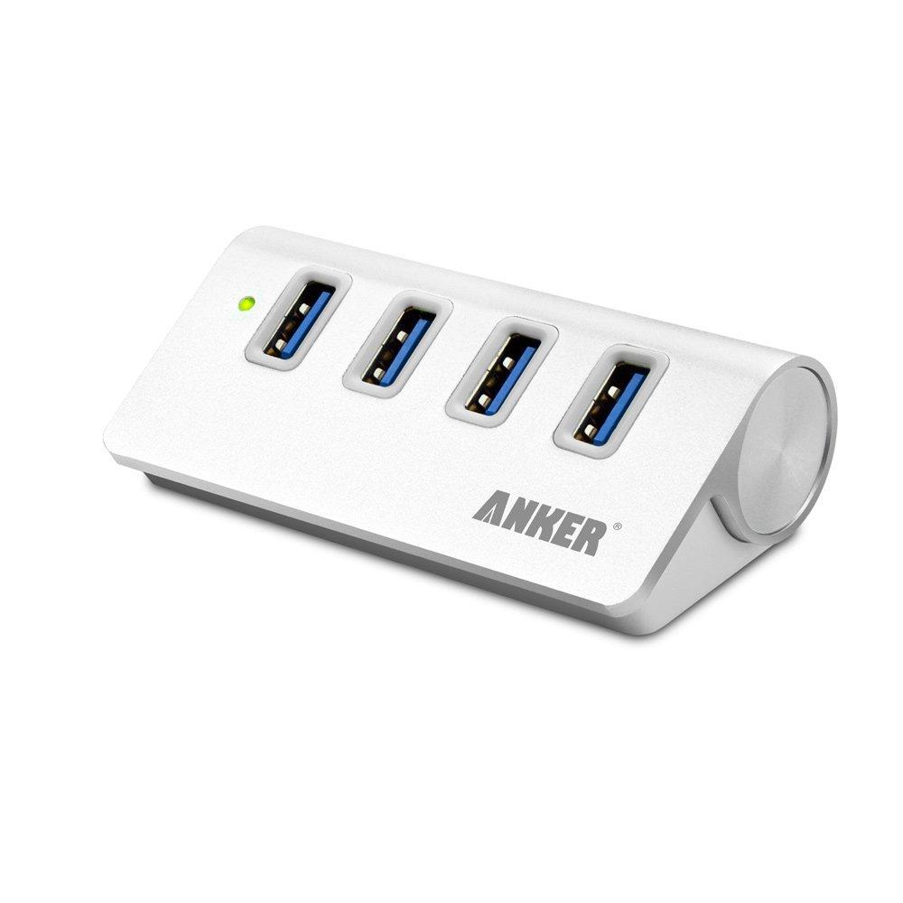 Hub USB 3.0 in alluminio, veloce ed elegante a 22€, sconto speciale Amazon in scadenza