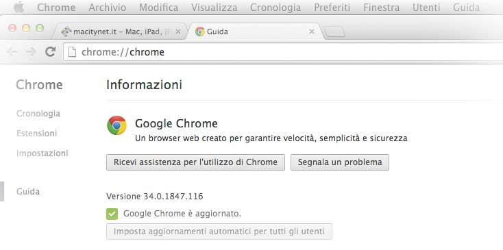 Chrome 34