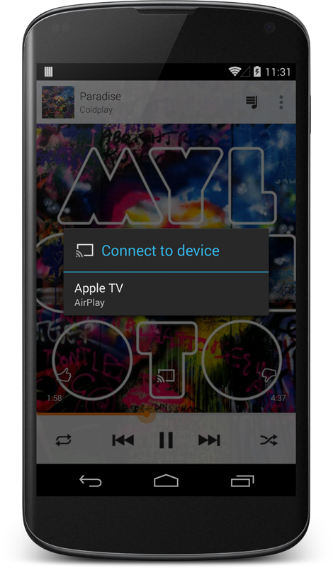 da android ad Apple TV