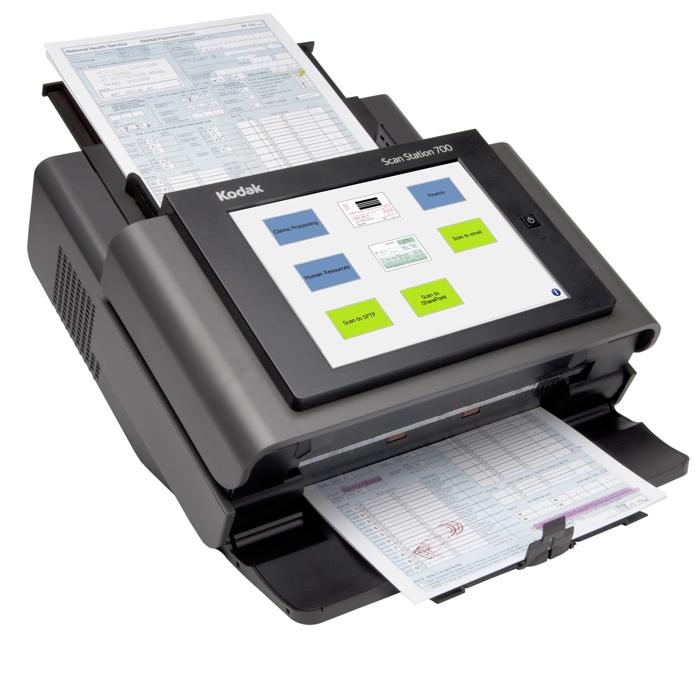 Kodak Scan Station serie 700: nuovo scanner di rete che funziona senza computer