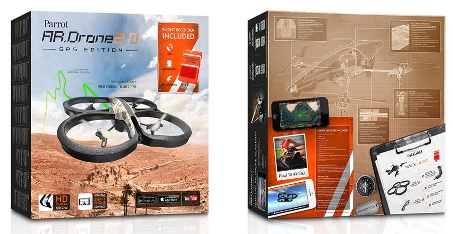 parrot ar drone 2 0 gps edition nuove funzioni per il drone volante grazie al gps. Black Bedroom Furniture Sets. Home Design Ideas