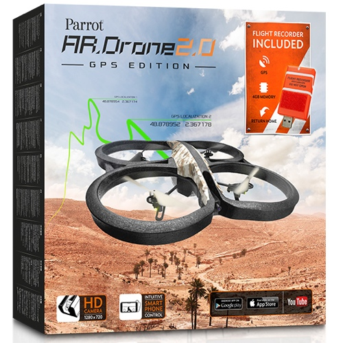 Parrot AR.Drone 2.0 GPS Edition icon 500