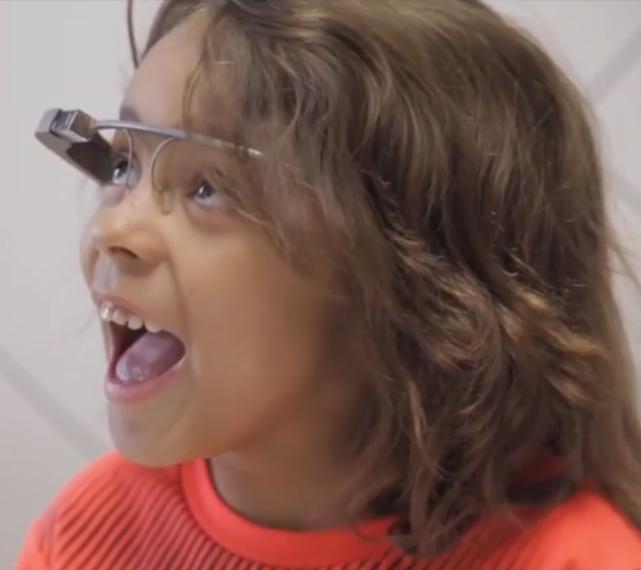 google glass i bambini