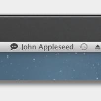 how to change status on imessage on mac