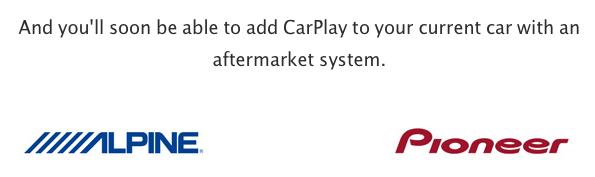 CarPlay aftermarket