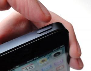 tasto accensione iphone 5