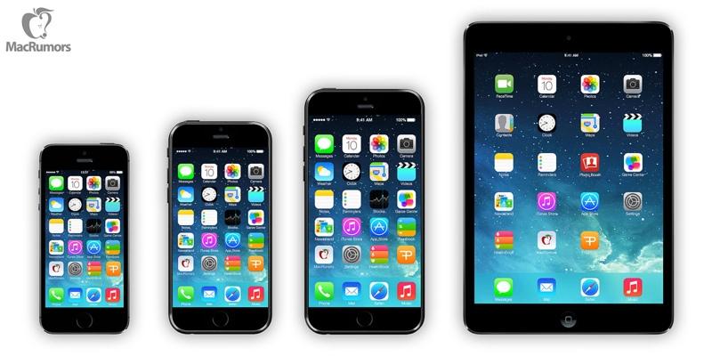 iphone 6 rendering confronto 800