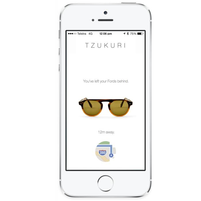 occhiali ibeacon Tzukuri icon 700