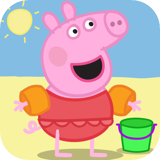 Peppa in vacanza sullo store la prima app di peppa pig in for Peppa in italiano