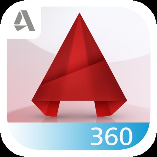 AutoCAD 360 icon 500