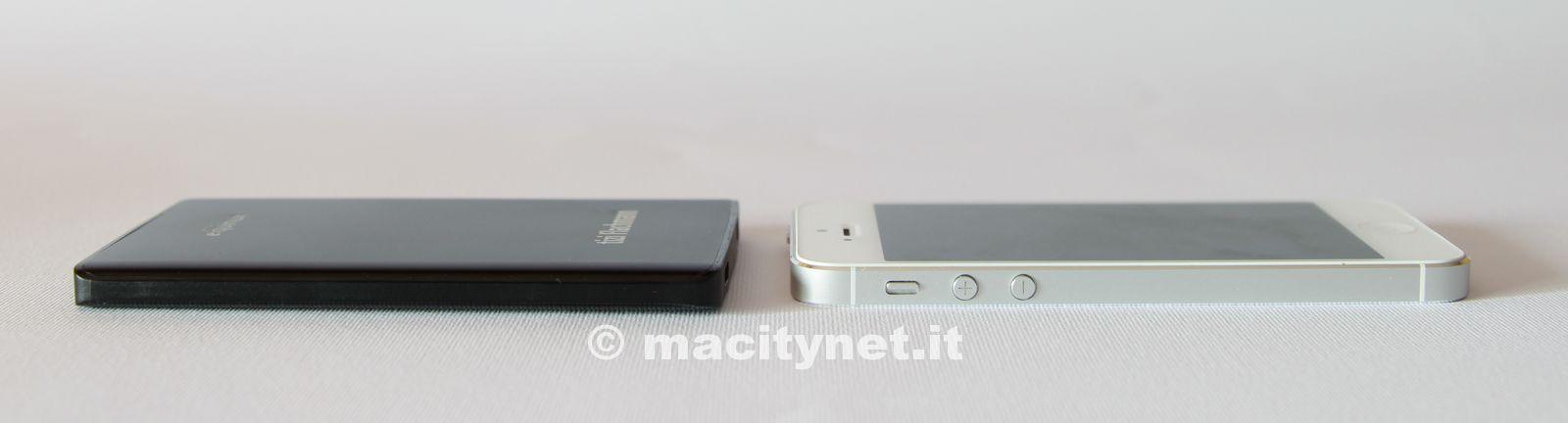 A confronto con l'iPhone 5