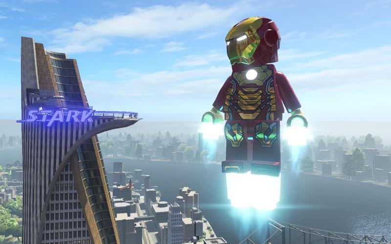 LEGO Marvel Super Heroes per Mac 1