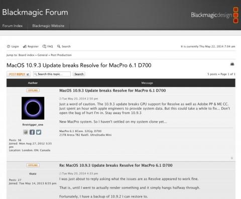 Mac Pro e OS X 10.9.3 800