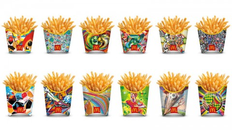 McDonald's Gol patatine