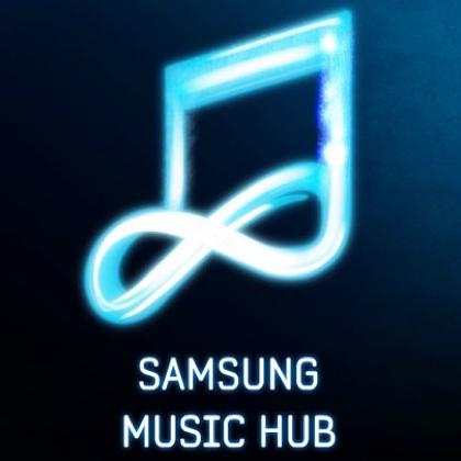 Samsung Music Hub icon 420