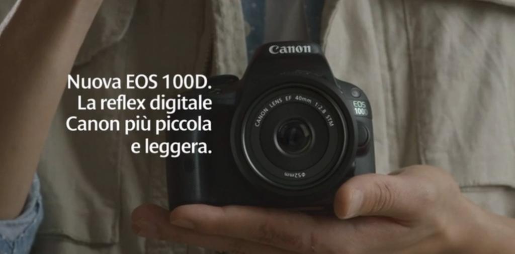 Canon 100D al prezzo più basso