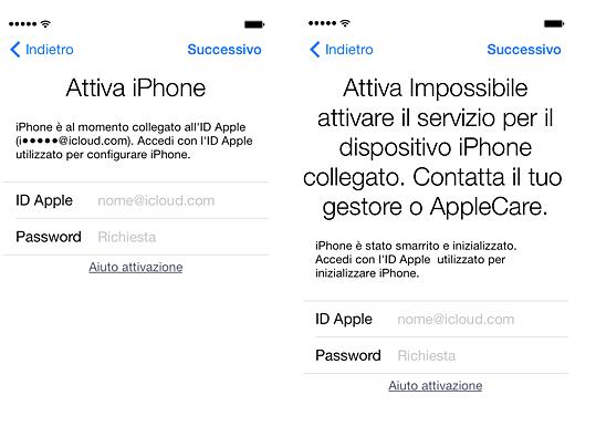 Attivare iPhone senza ID Apple