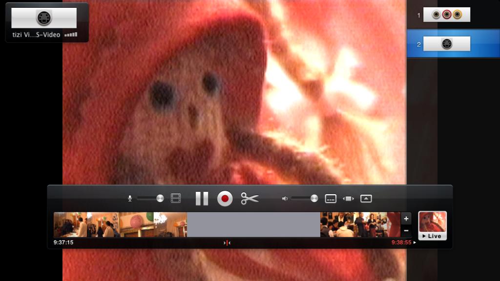 digitalizzare video