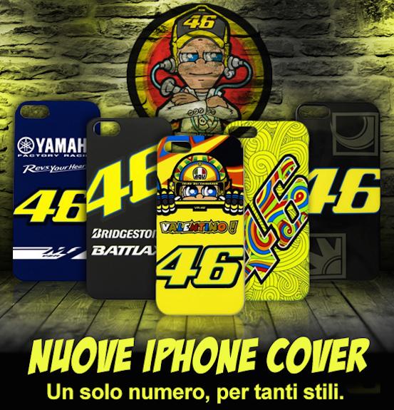Valentino Rossi cover per iPhone