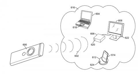 brevetti apple infrared