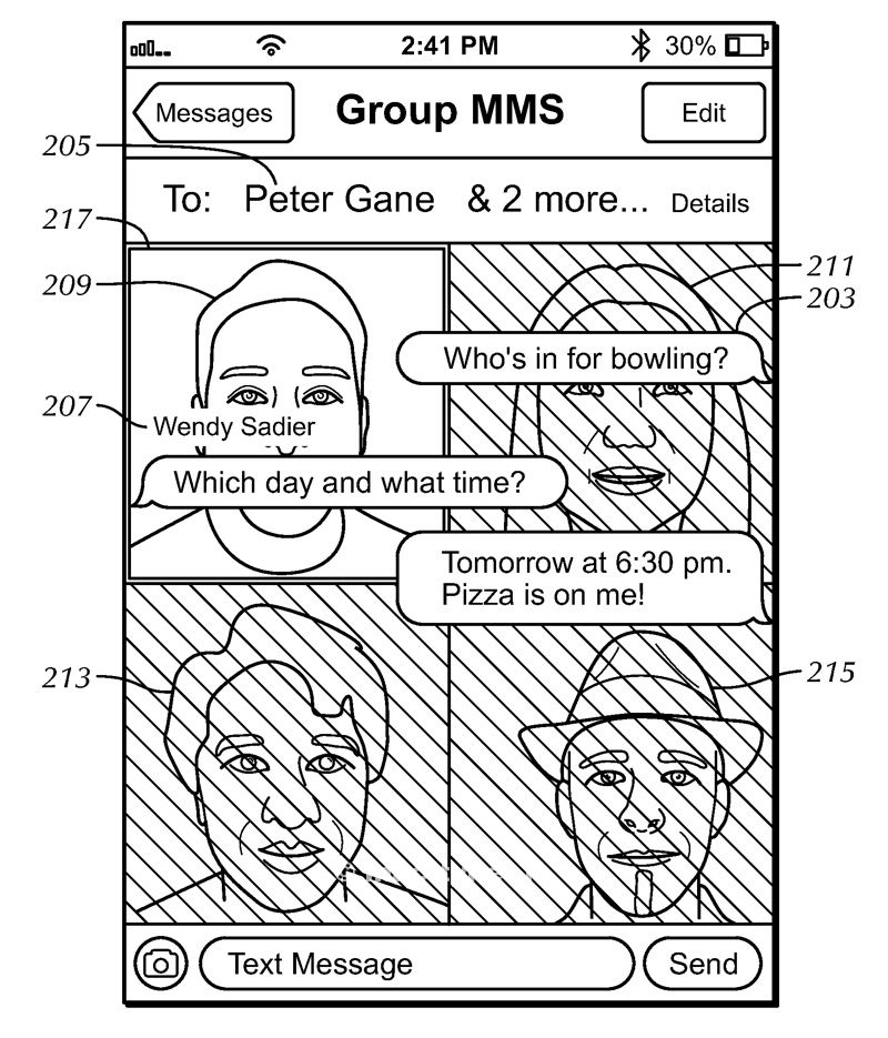 brevetto apple messaggi 2