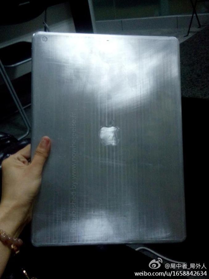 iPad 13 pollici, su un sito cinese la presunta immagine di un mock up