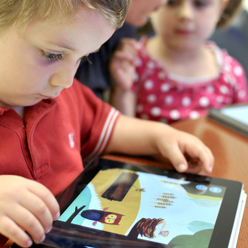 digital accademia ipad bambini