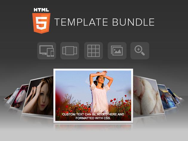 gallerie fotografiche in HTML5