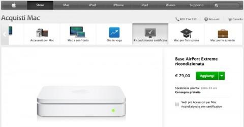 ricondizionati apple store Airport 79 euro 800