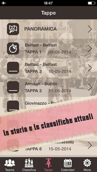 E' sullo Store l'app Giro d'Italia 2014, per seguire la maglia rosa con un tap - Macitynet.it